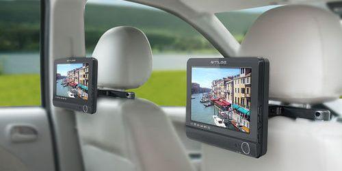 Lecteur DVD portable pour trajets en voiture