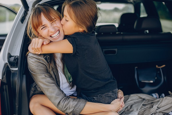 voyage auto avec enfant