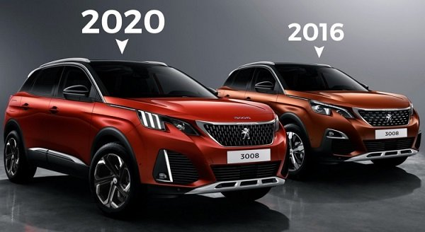 peugeot 3008 restylage 2020